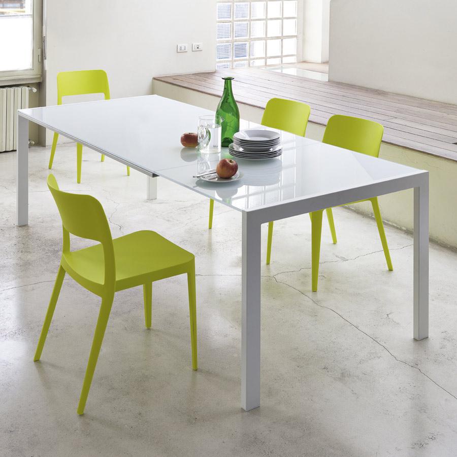 Tisch Mit Ausziehbarer Tischplatte Im Modernen Stil Opla All 130 X 80 Arredasi