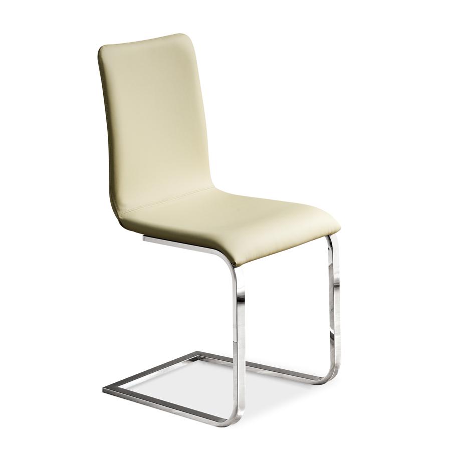 freischwingerstuhl und leder oder kunstleder bezug sedia adele arredas. Black Bedroom Furniture Sets. Home Design Ideas
